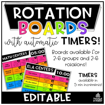 Rotation Boards  EDITABLE
