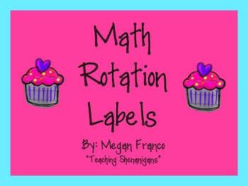 Math Rotation Labels