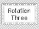 Math Rotation Posters