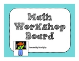 "Math Rotation ""TAG"" Board"