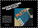 Math Rotations