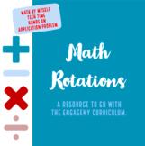 Math Rotations- EngageNY Aligned