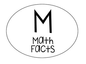 Math Rotations Bulletin Board