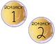 Math Rotations-Gold Stroke-Pastel Colors-Editable
