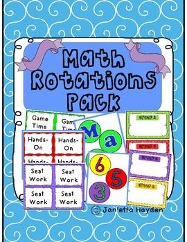 Math Rotations Pack