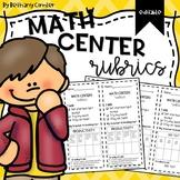 Math Centers Rubric