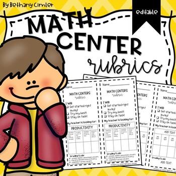 Math Rotations Rubric