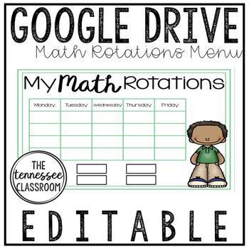 Math Rotations for GOOGLE DRIVE