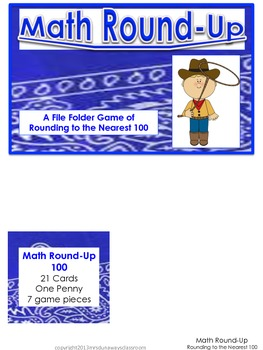 Math Round-Up Bundled (rounding to 10 and 100)
