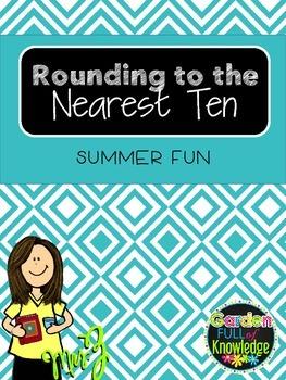 Math -Rounding to the Nearest Tens - Critical Thinking - Maze Fun