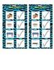 Math Routine Schedules Zebra Print