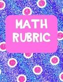 Math Rubric