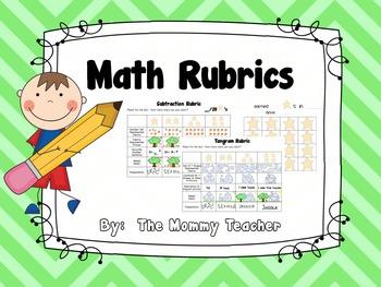 Math Rubrics {Common Core Aligned}