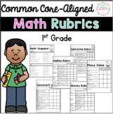 Math Rubrics for First Grade