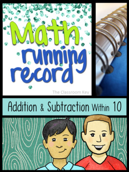 Math Running Record, Addition and Subtraction within 10