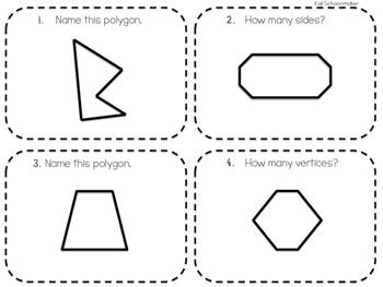 Math SCOOT First Grade Geometry