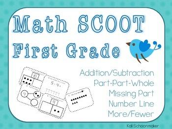 Math SCOOT First Grade Review