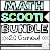 Math SCOOT! Games Bundle- 20 GAMES!