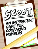 Math Game: Scoot Greater than, Less than, and Equal to