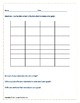 Math SOL 3.17 Graphing Exit Tickets