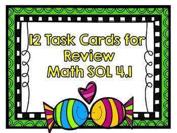 math sol 4 1 12 task cards for review by allison harig tpt. Black Bedroom Furniture Sets. Home Design Ideas