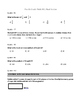Math VA SOL Fourth Grade Final Review