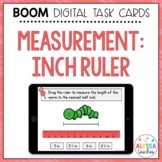 Measuring to the Nearest Inch & Part of an Inch Digital Task Cards