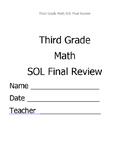 Math VA SOL Third Grade Review