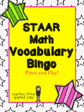 Updated STAAR Math Bingo (4th Grade) Test Prep