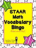 Updated STAAR Math Bingo (4th Grade) Test Prep