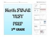 Math STAAR PREP 3rd grade