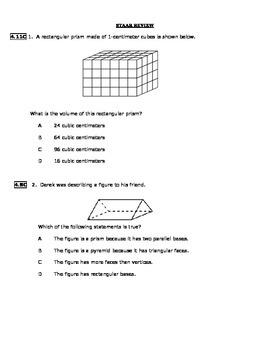 Math STAAR Review