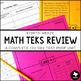 Math TEKS Review: 6th-8th Grade Bundle