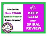 Math STAAR Spiral Review 5th Grade