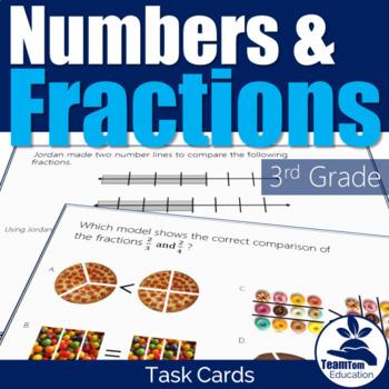 Math STAAR Task Cards #1