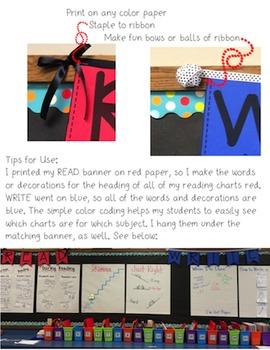Math, STEAM, Calendar Banners