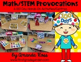 Math/STEM Provocations: 6 100 Day Hands On Activities