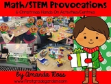 Math/STEM Provocations: 6 Christmas Hands On Activities