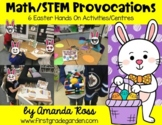 Math/STEM Provocations: 6 Easter Hands On Activities