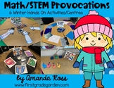 Math/STEM Provocations: 6 Winter Hands On Activities