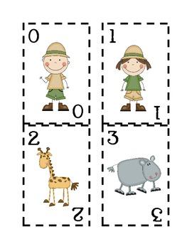 Math Safari Battle 0-9