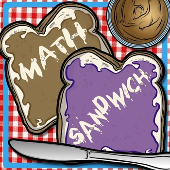 Math Sandwich - 2-Digit & 3-Digit Addition Printables