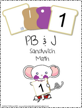Math Sandwiches - Counting and Numeration Activity