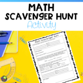 Math Scavenger Hunt