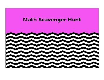 Math Scavenger Hunt: A comprehensive review