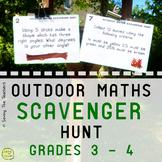 Scavenger Hunt Activity: Grades 3 and 4 - Various Math Topics