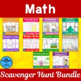 Math Scavenger Hunt Bundle