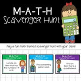 Math Scavenger Hunt- Distance Learning