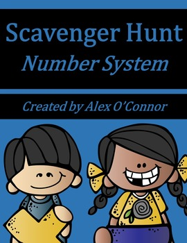 6th Grade Math Scavenger Hunt: Number System