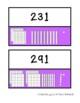 Math Scavenger Hunt - Place Value using Base Ten Blocks